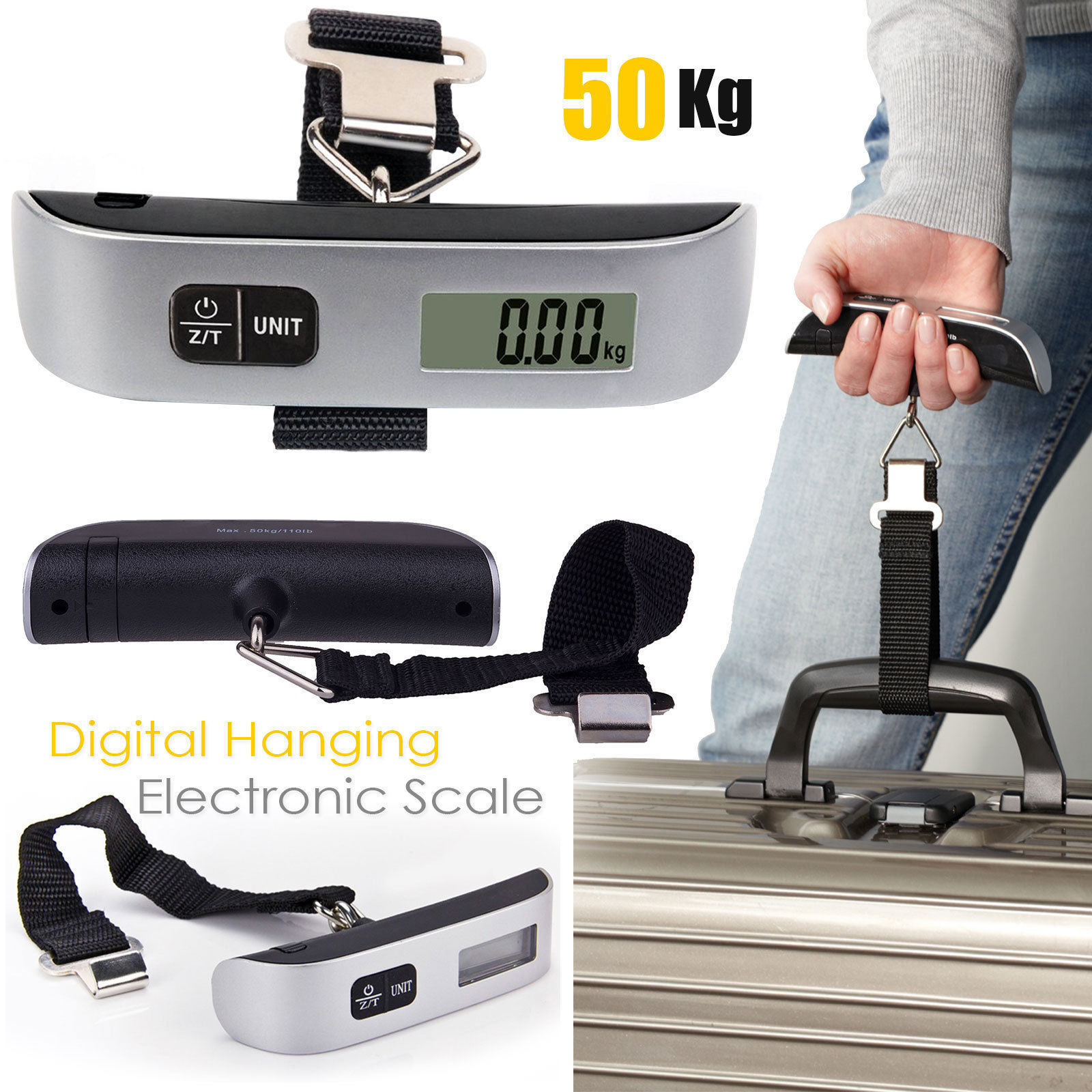 Portable Digital Travel Scale