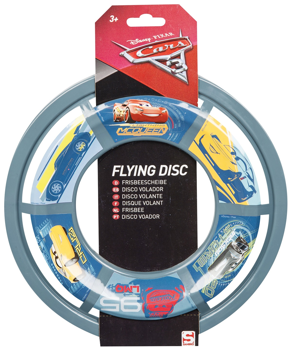 Cars Mcqeen Frisbee Flying Disc