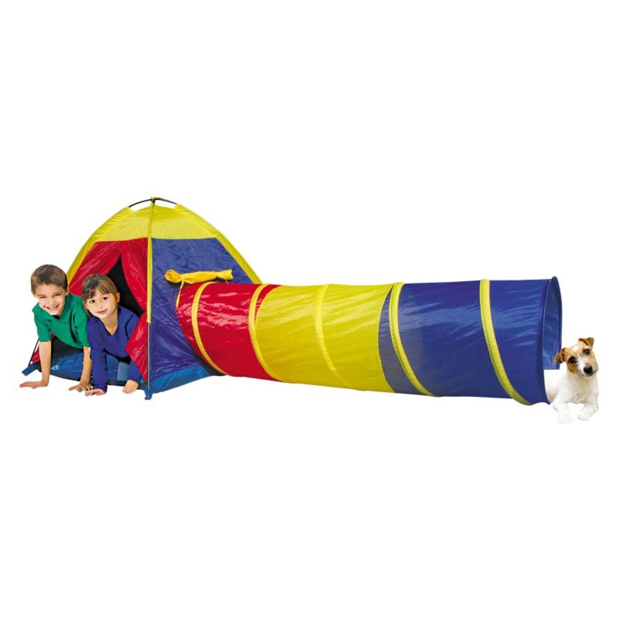 Adventure Play Tent And Tunnel Set - 2 Piece
