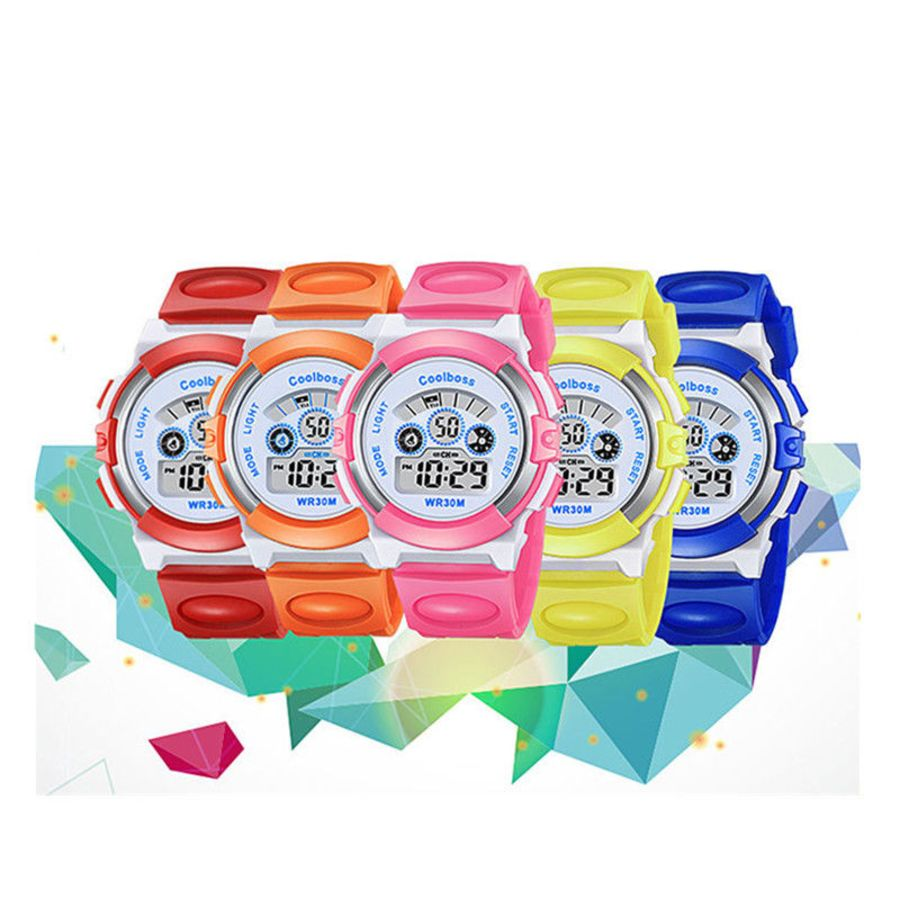 Bright Colorful Kids School Watches
