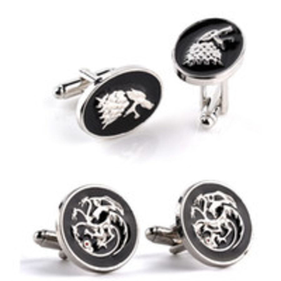 Game of Thrones House of Stark Cufflinks