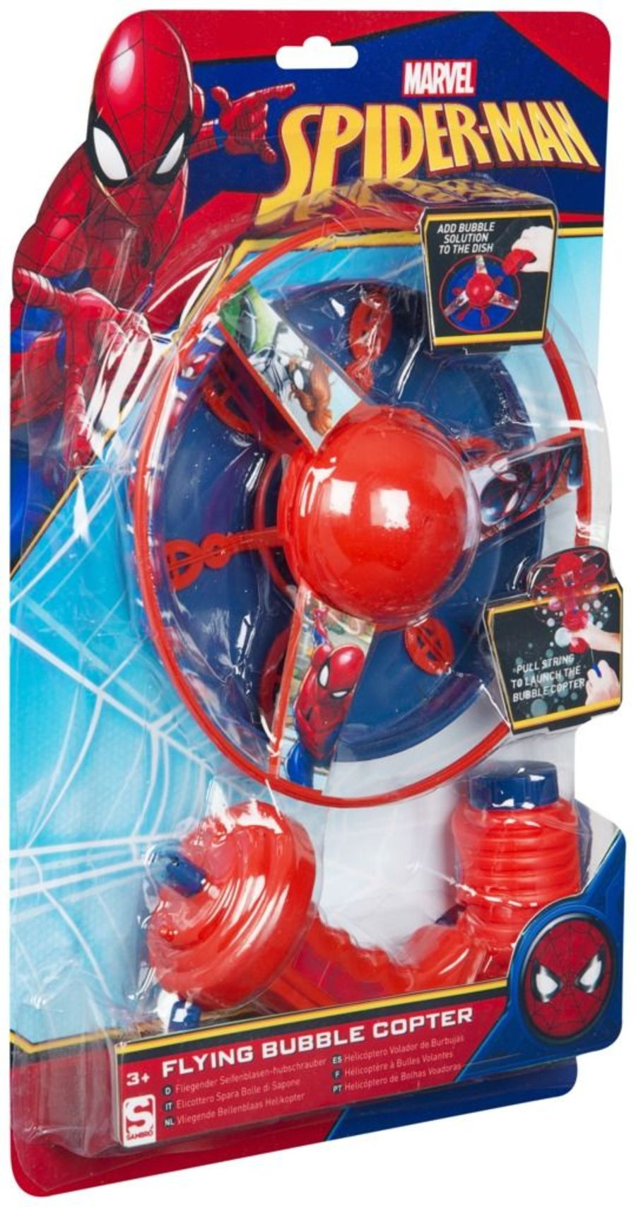 Spiderman Evergreen Flying Bubbles