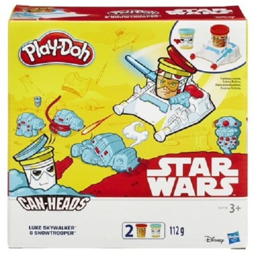 Playdoh Star Wars Canheads 2 Pack