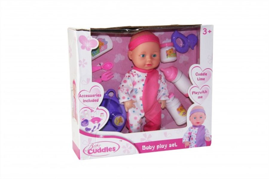 9.5 Inch Baby Doll with Accessories