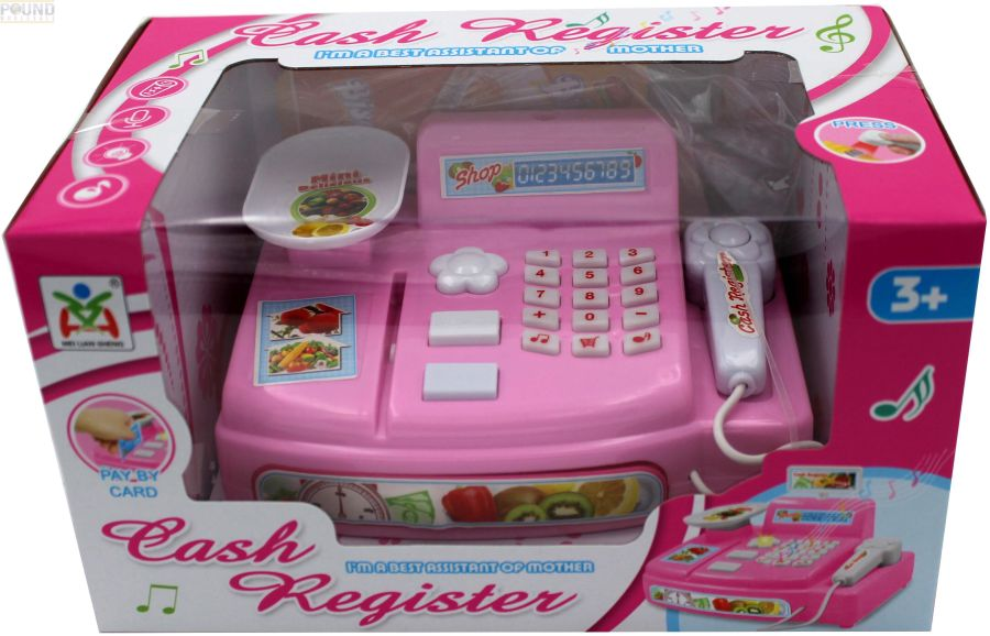 Cash Register play set with accessories