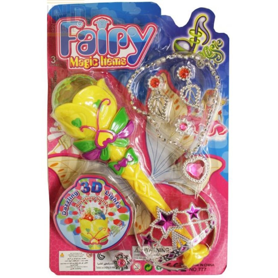 Fairy Magic Wand with 3D Lights