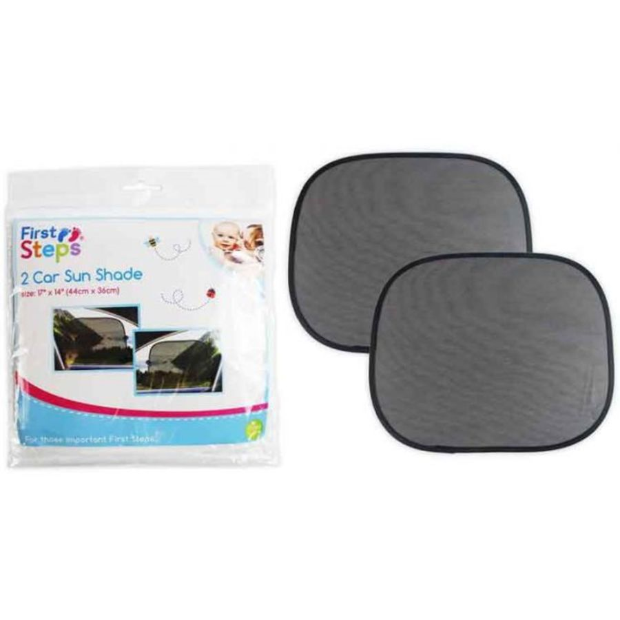 2 Pack Car Mesh Sunshade 44X36CM