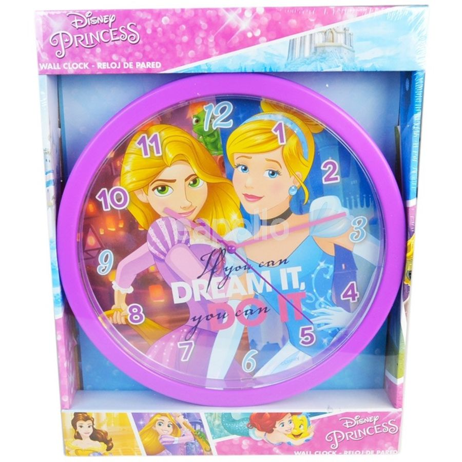 Disney Princesses Wall Clock