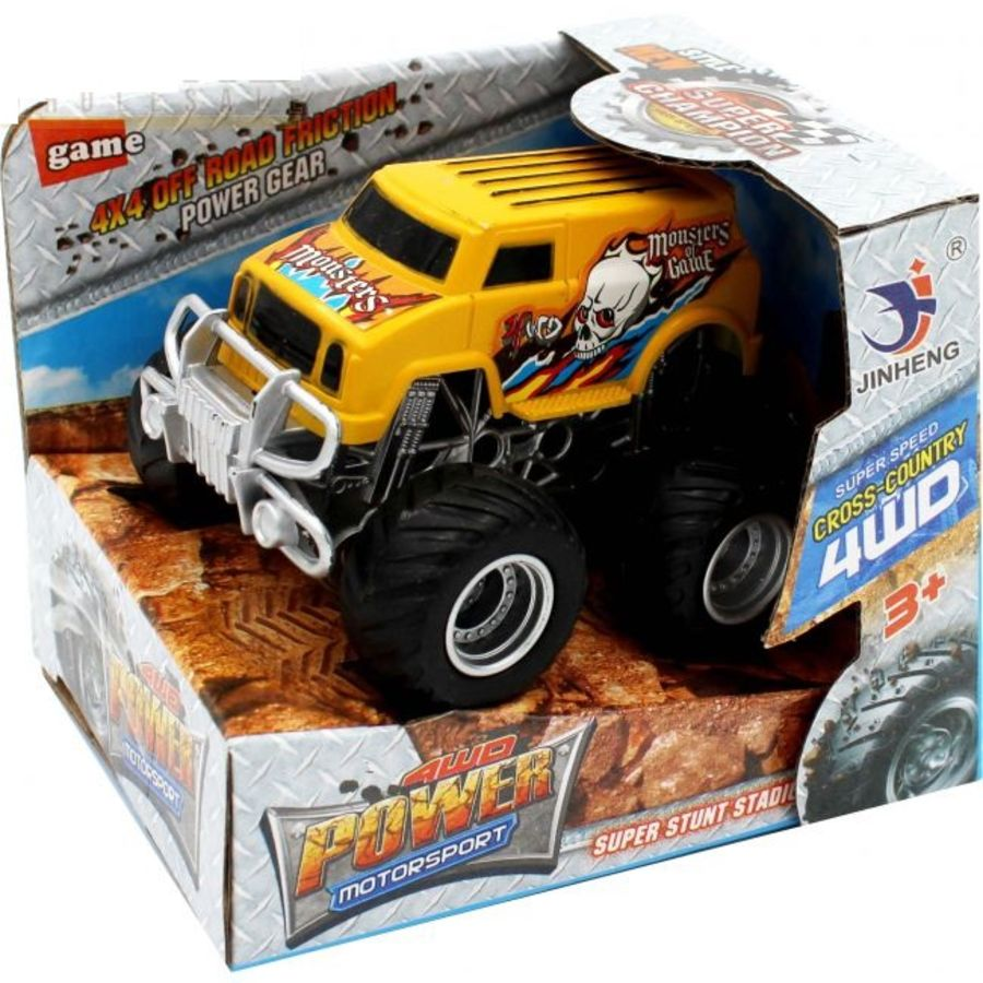 Monster Truck 4X4 Friction Power