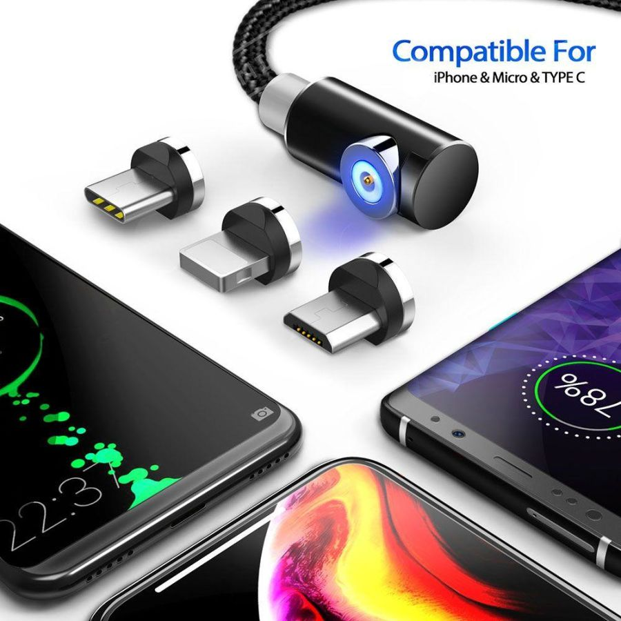 3-IN-1 MAGNETIC CABLE CHARGER
