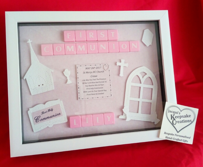 First Holy Communion GIRL Bespoke Personalised Gift