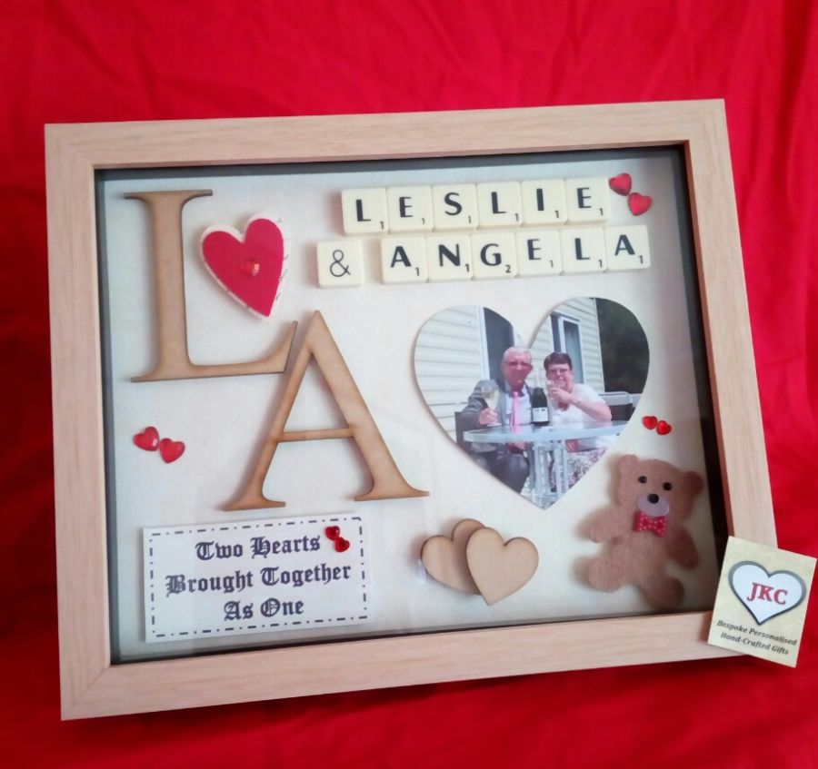 Valentine's Day Personalised Keepsake Gift Option 'C' '