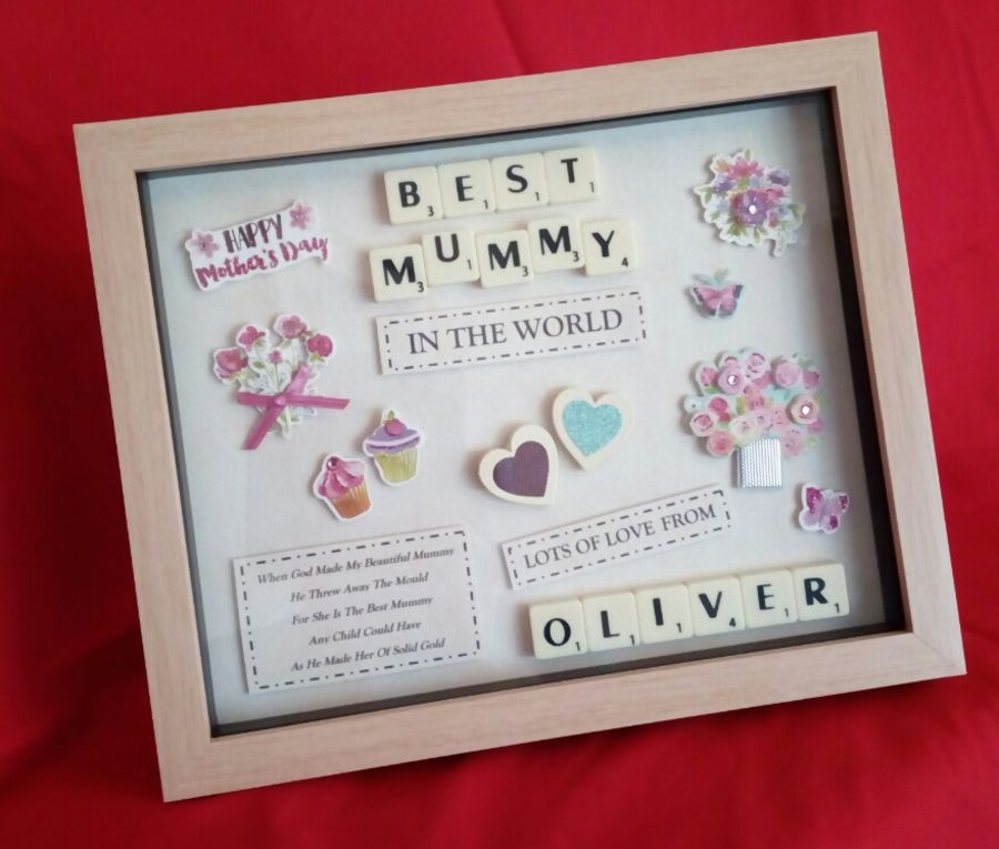 Jacqui\'s Keepsake Creations Mothers Day Gift Present