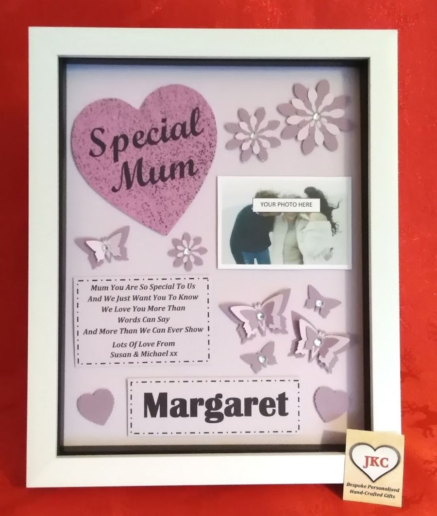 Personalised Mother's Day Picture Frame Gift Mum