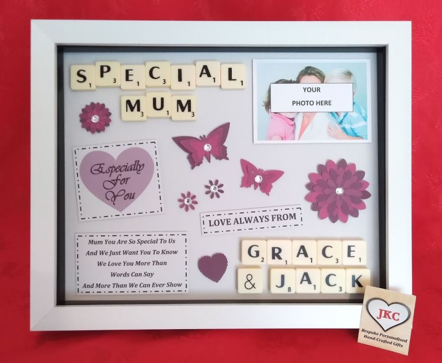 Personalised Mothers Day Box Picture  Frame Gift