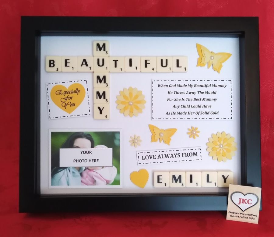 Personalised Mothers Day Frame Gift