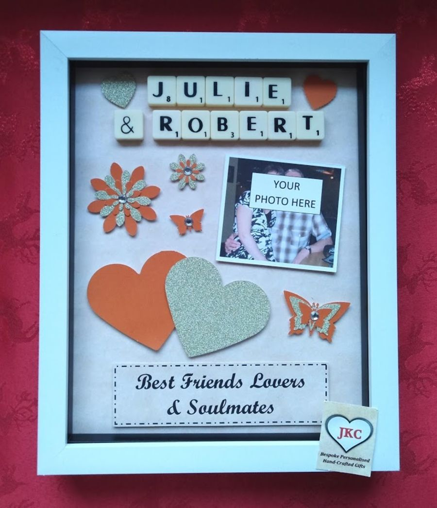 Personalised Soulmates Couple Frame Gift