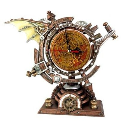 Alchemy Gothic Stormgrave Chronometer Clock