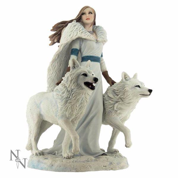 Anne Stokes Winter Guardians 23cm Figurine by Nemesis Now