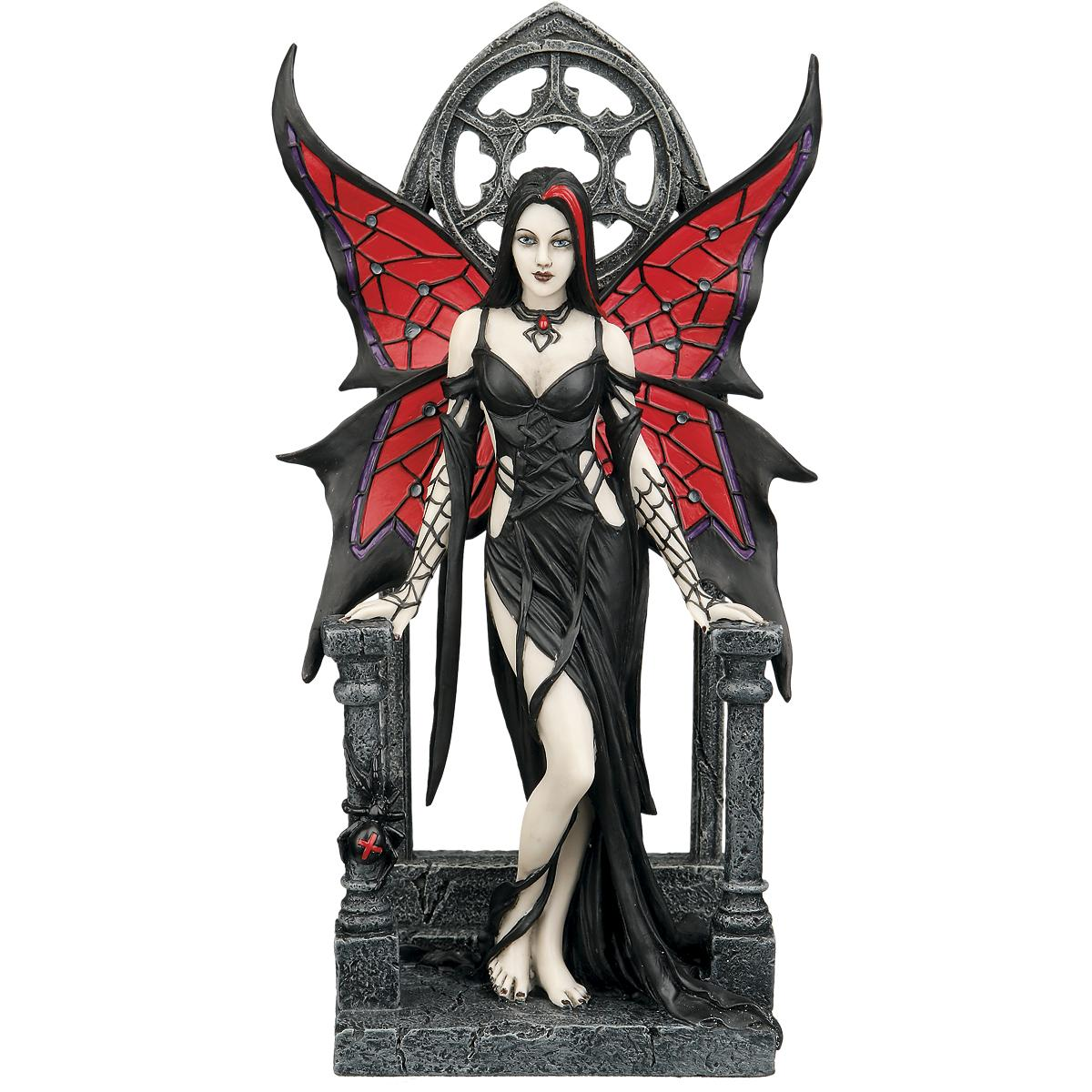 Aracnafaria - Gothic Fairy Figurine / Statue 23cm by Anne Stokes and Nemesis Now