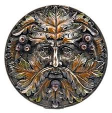 Nemesis Now Green Man Wall Plaque 15cm Autumn