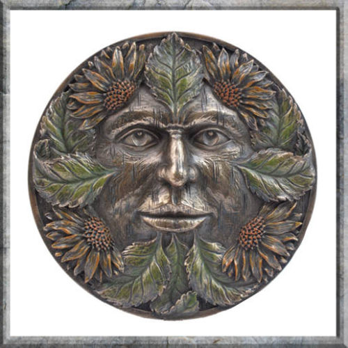 Nemesis Now Green Man Wall Plaque 15cm Midsummer