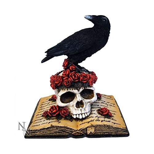 Heartache's Reflection Poes Raven Nevermore Gothic Figurine by Nemesis Now