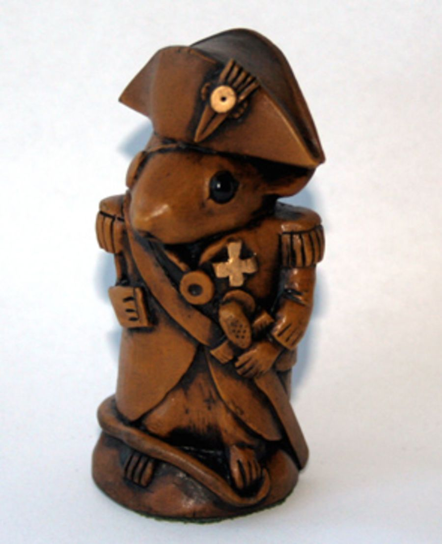 Church Mouse Figurine Admiral Lord Nelson