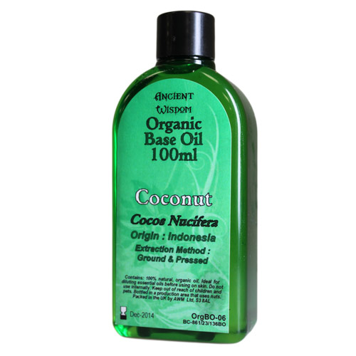 Coconut 100ml Organic Base Oil