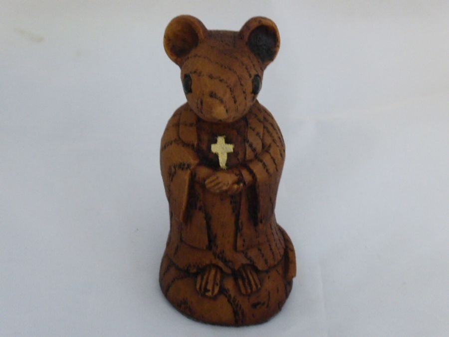 Church Mouse Ornament The Vicar