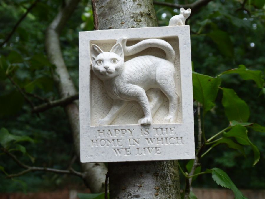 Cat and Mouse Wall Plaque
