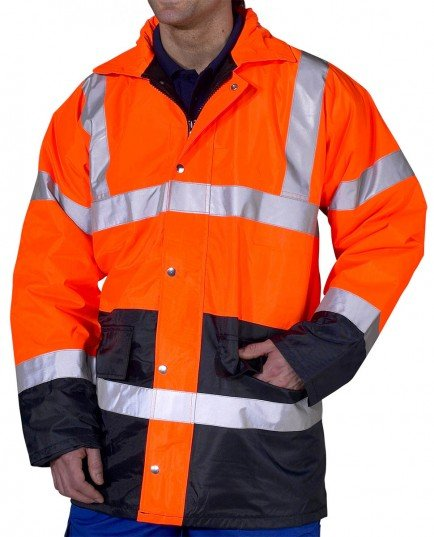 Two Tone Traffic Jacket