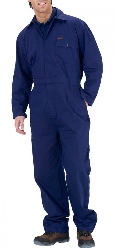Click Cotton Drill Boilersuit