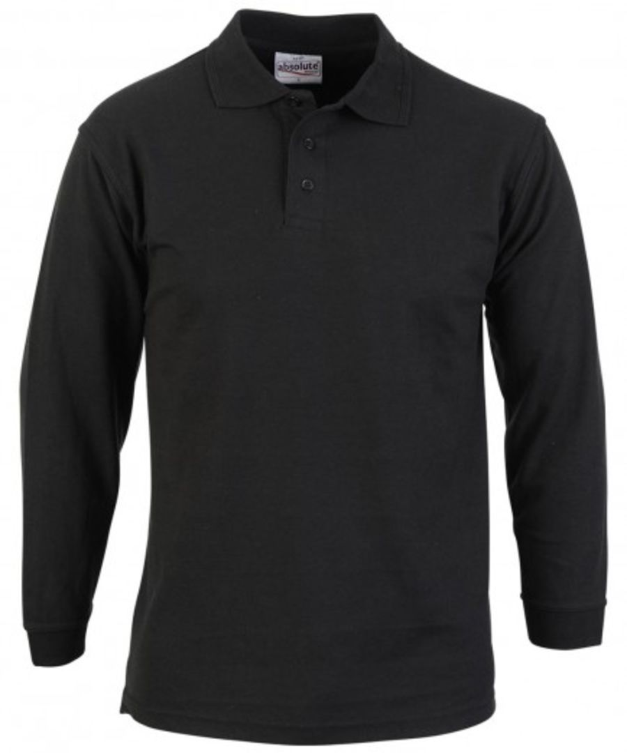 Absolute Apparel Long Sleeve Polo Shirt