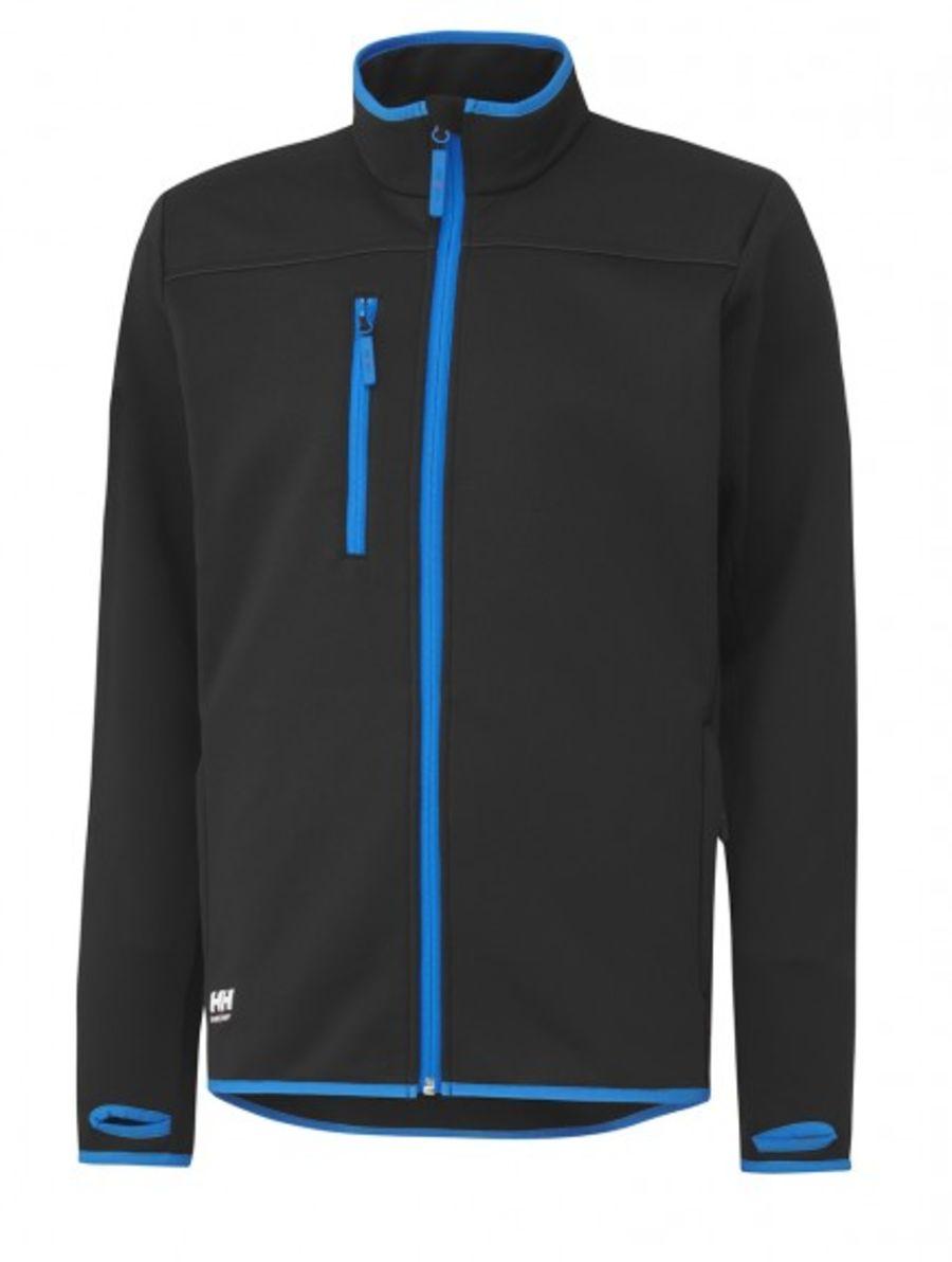 Helly Hansen Seattle Pow Stretch Fz Shirt Black