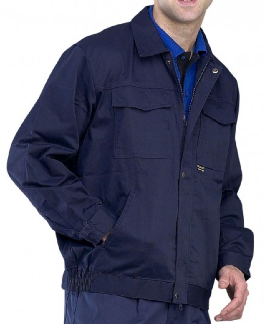 Click 9oz Polycotton Drivers Jacket