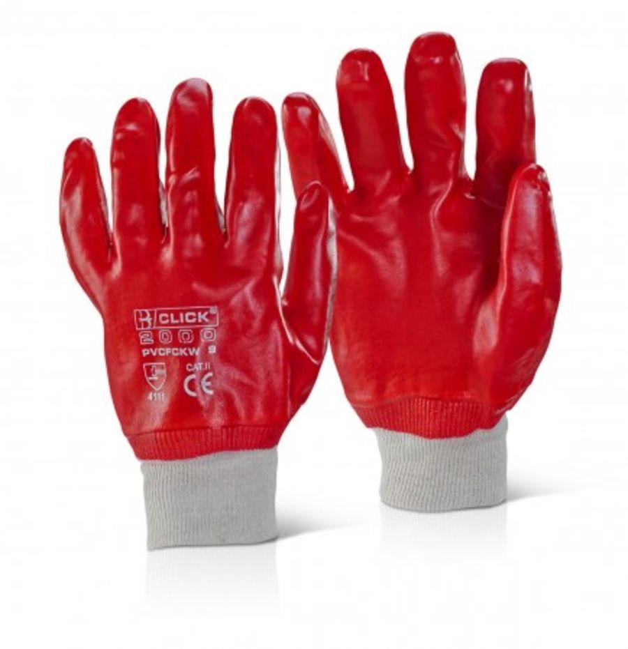PVC Knit Wrist Glove