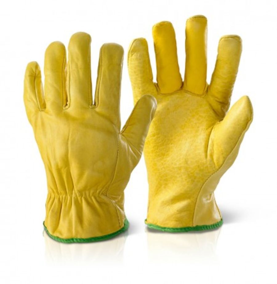 Quality Lined Cowhide Glove