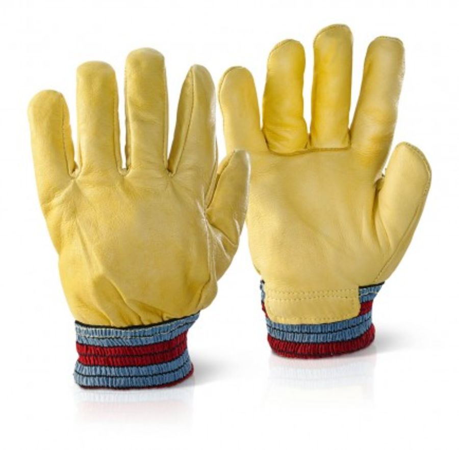 Fleece Lined Hide Glove