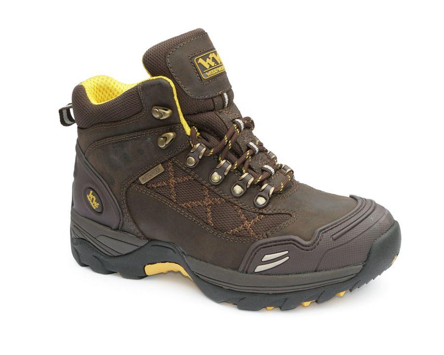 Wood World Waterproof Brown Leather Boot SBP – SRA