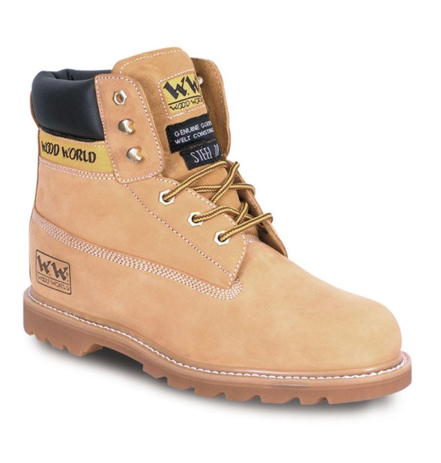 Wood World Honey Nubuck Boot SBP – SRA