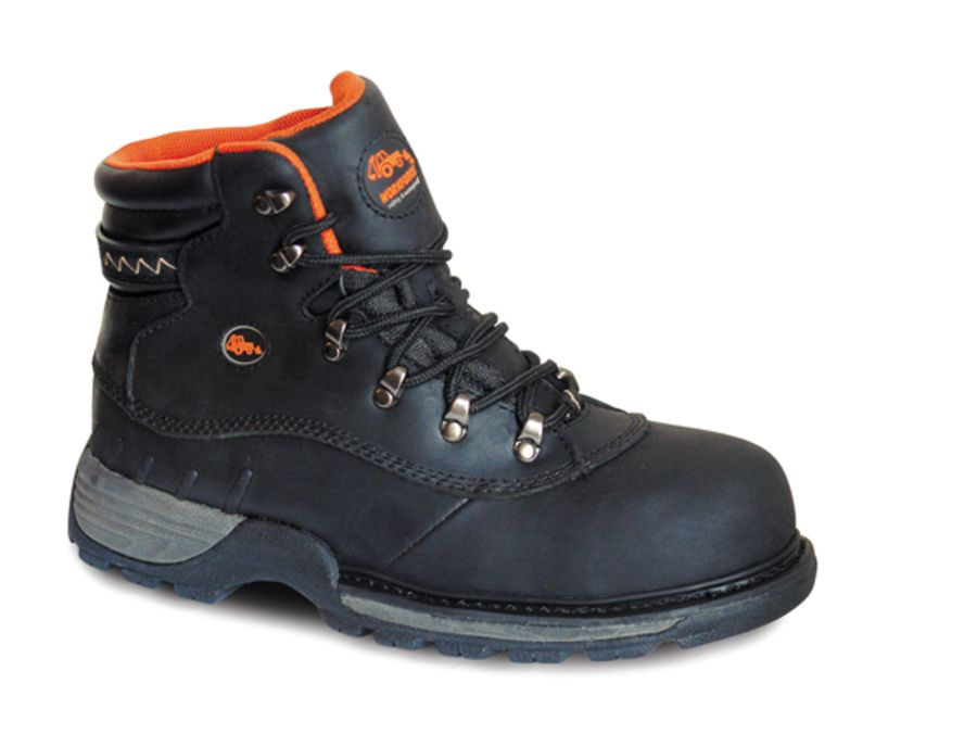 Workforce Waterproof Black Leather Boot SBP – SRC
