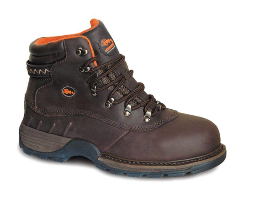 Workforce Waterproof Brown Leather Boot SBP – SRC