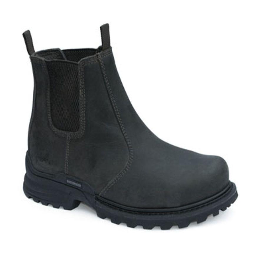 Workforce Waterproof Black Leather Dealer Boot SBP – SRC