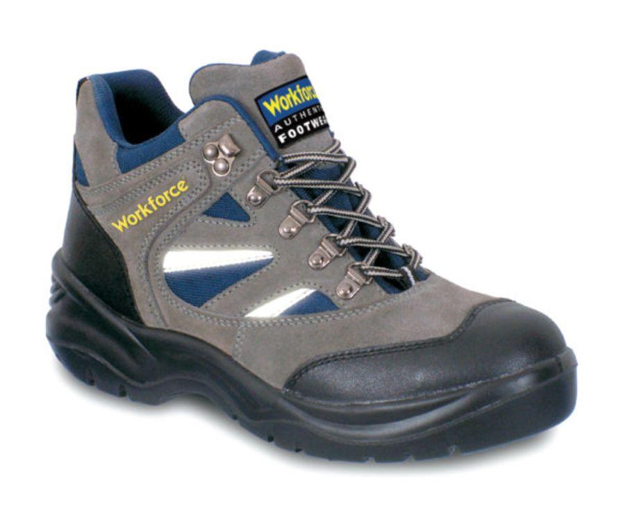 Workforce Grey Suede Boot S1P – SRA