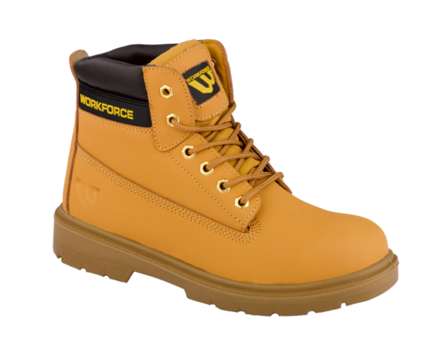 Workforce SBP Honey Leather Safety Boot
