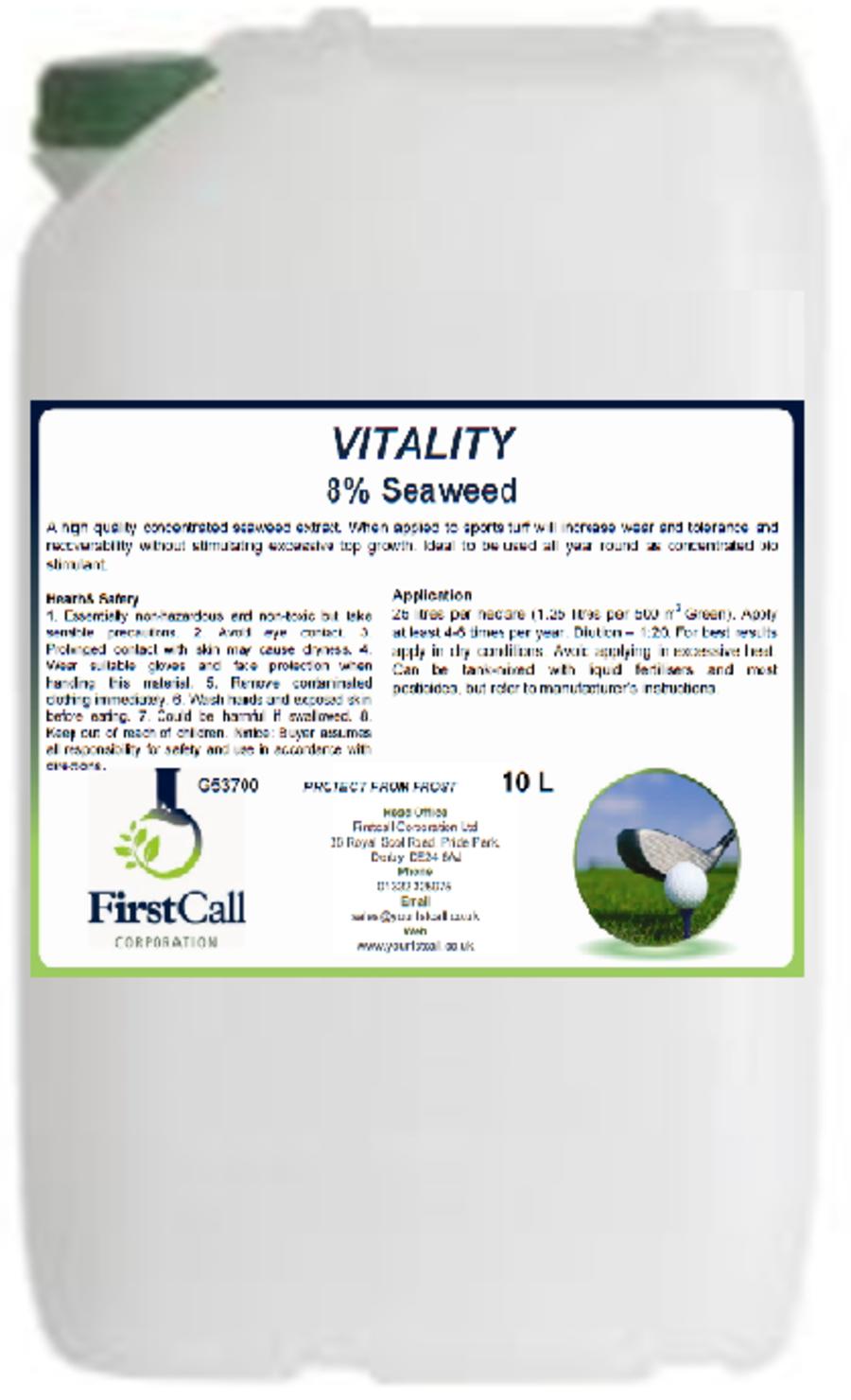 Vitality 8% Seaweed