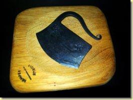Mezzerluna in Wrought Iron