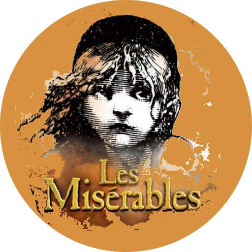 Les miserables Cake Topper Round Or Square