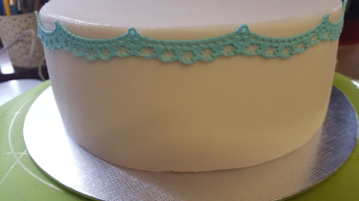 Long bunting Strip Lace Ready Made